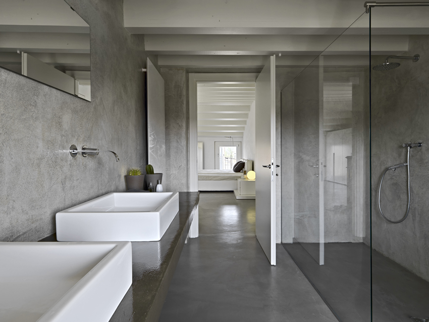 Ristrutturare il bagno con la resina   elekta resine elekta linea ...