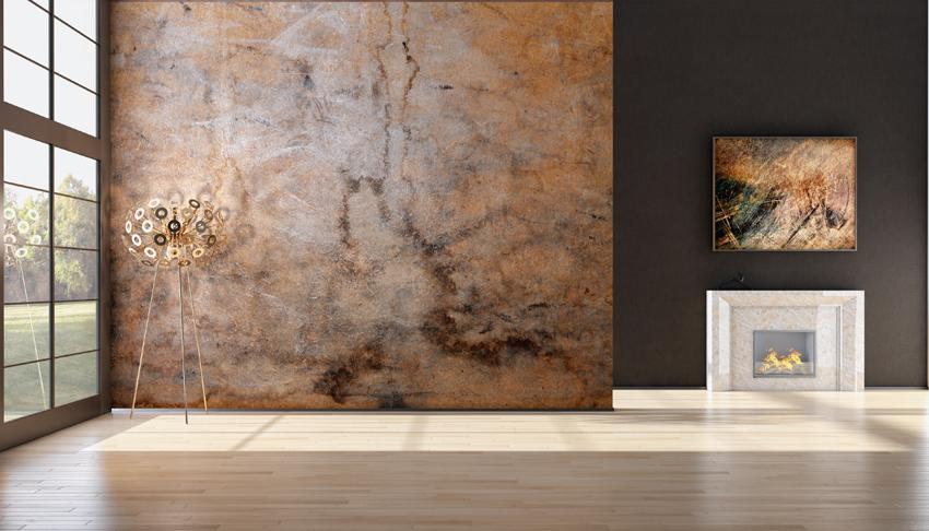 parete in resina Redoxy design. Soluzione per pareti molto versatile e d'impatto