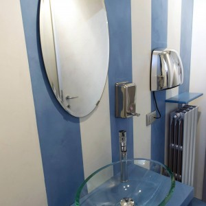 bagno showroom resina
