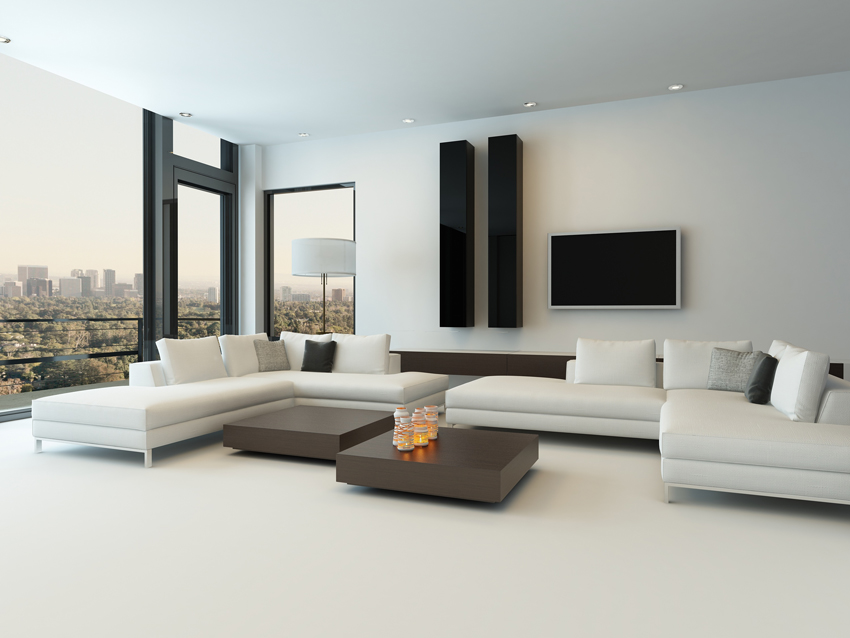 Pavimento in resina per la zona living elekta resine elekta linea