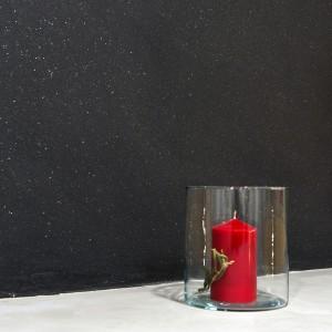 resina nera glitter