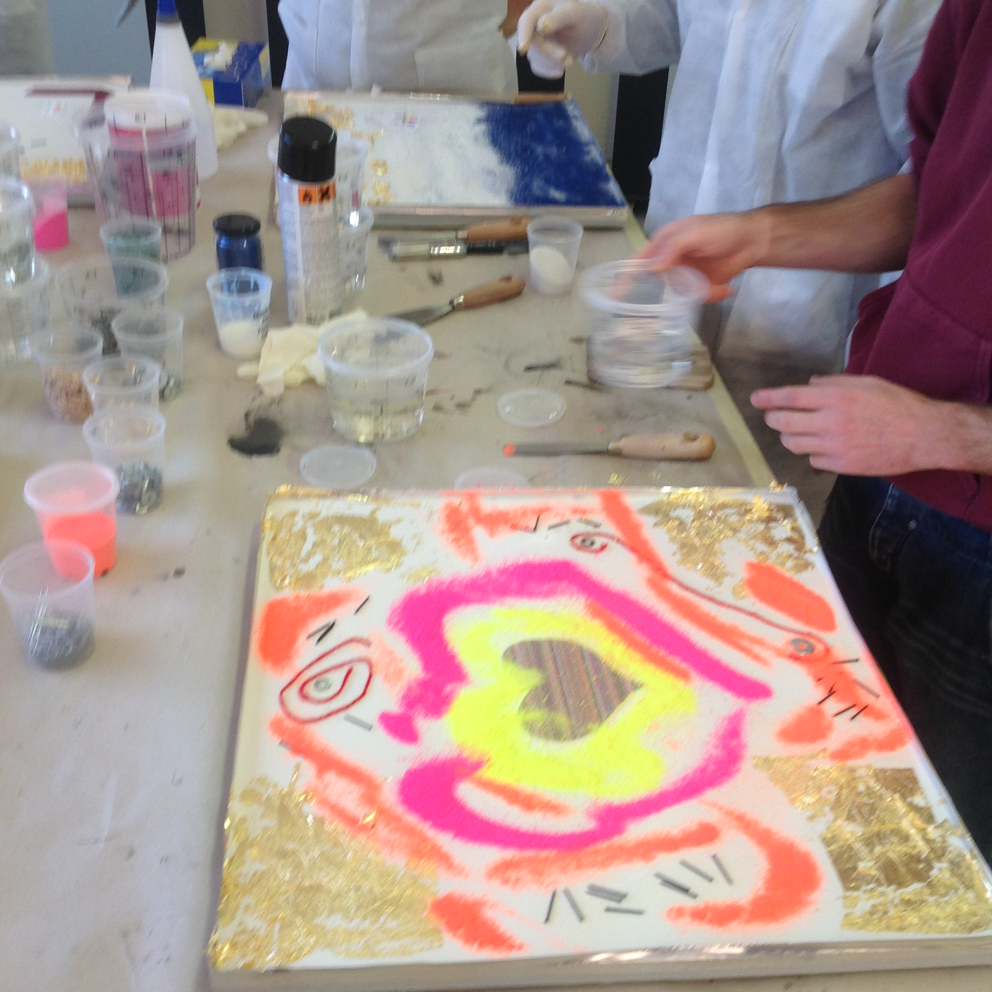 Corso di resina artistica elekta linea resine for Resina elekta