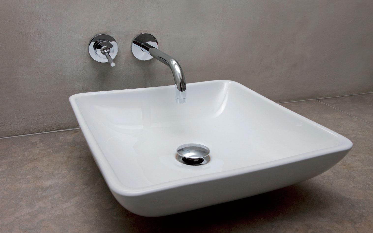ripiano mobile bagno in resina