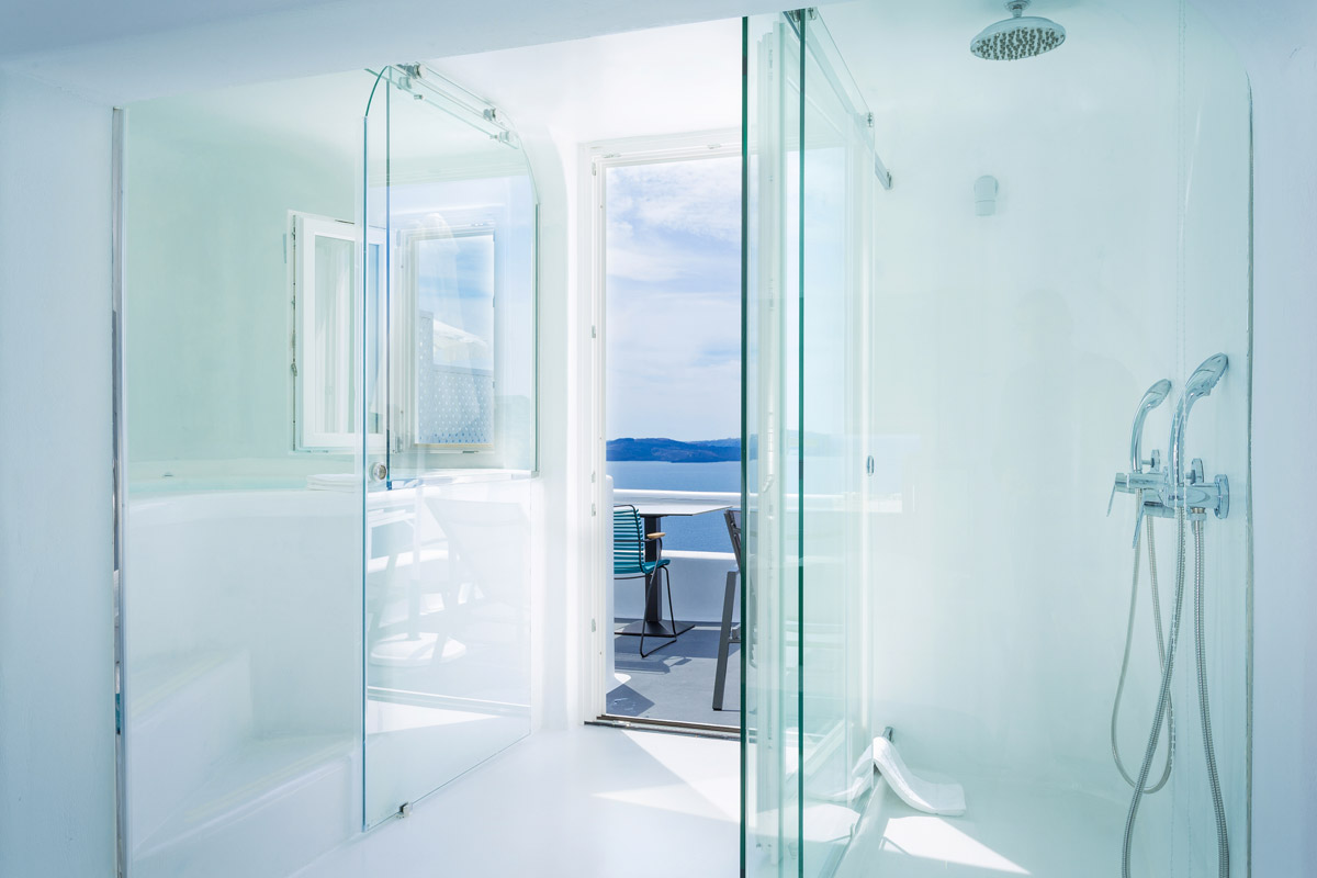 Good il bagno con la resina elekta resine elekta linea - Resina per pareti bagno ...