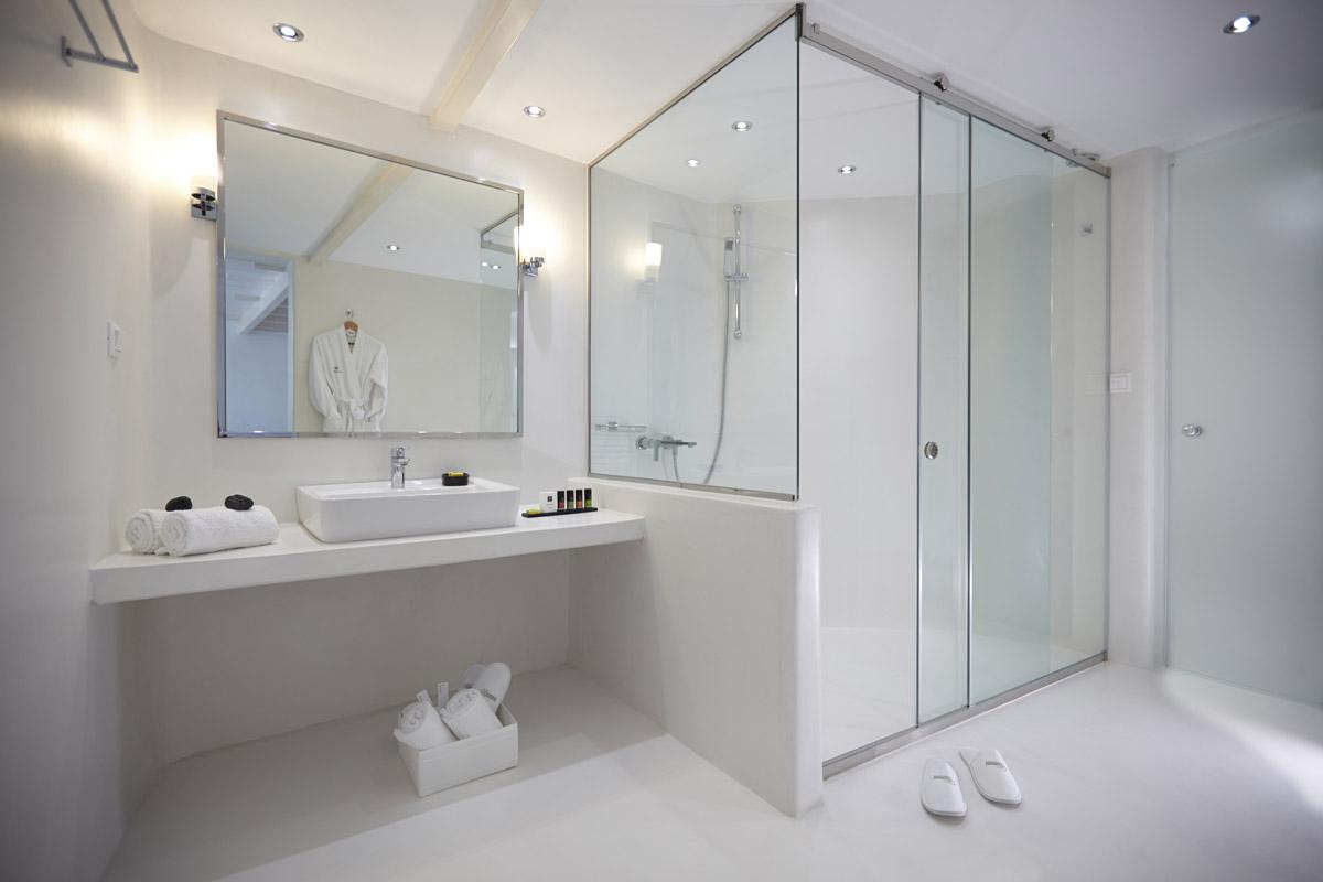 Bagni In Marmorino : Ristrutturare il bagno con la resina elekta resine elekta linea resine