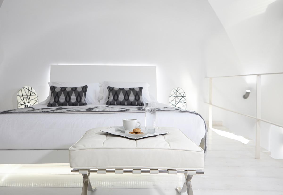 Pavimento e parete in resina per camera da letto Elekta ...