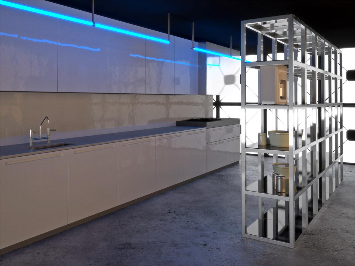 Resine per le pareti della cucina - Elekta Resine Elekta Linea Resine