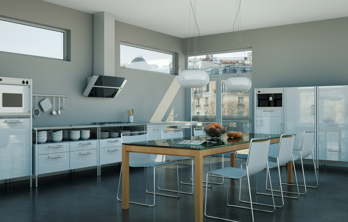 Cucina in resina with cucina in resina - Lavello cucina resina ...