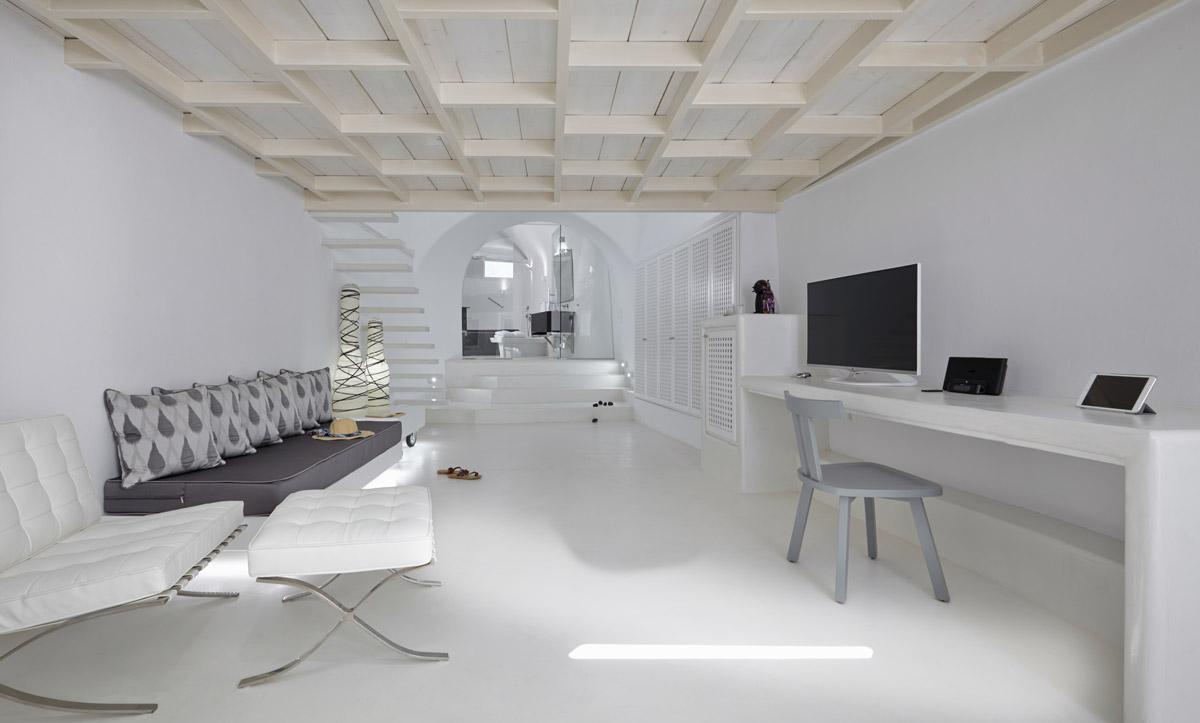 Pavimento in resina per la zona living elekta resine for Resina elekta