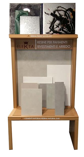 Crea il tuo showroom con elekta resine elekta linea resine for Resina elekta