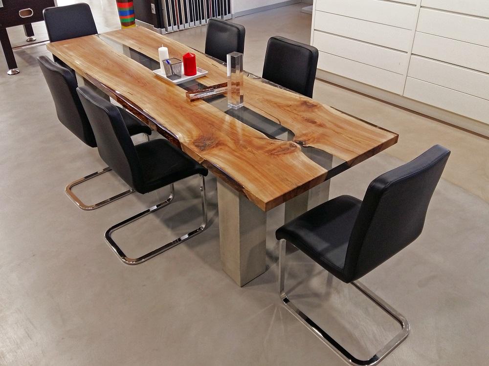Pavimenti in resina pareti in resina elekta linea resine - Resina per mobili ...