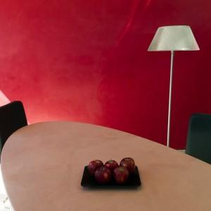 Resina per parete e resina piano del tavolo