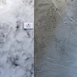 resina effetto marmo ed effetto cemento