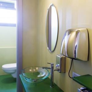 bagno showroom resina