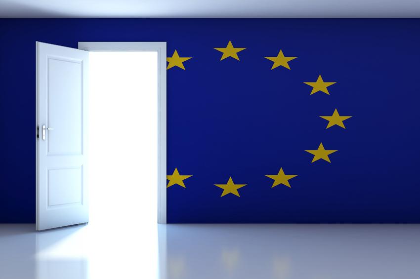 resina sul pavimento e sulla parete di questa sede istituzionale del parlamento europeo
