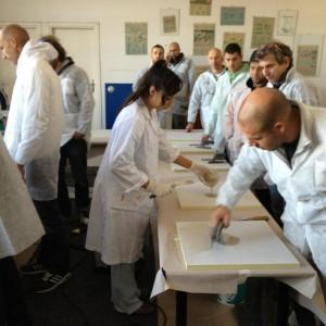 Corso per resinatori - fase pratica