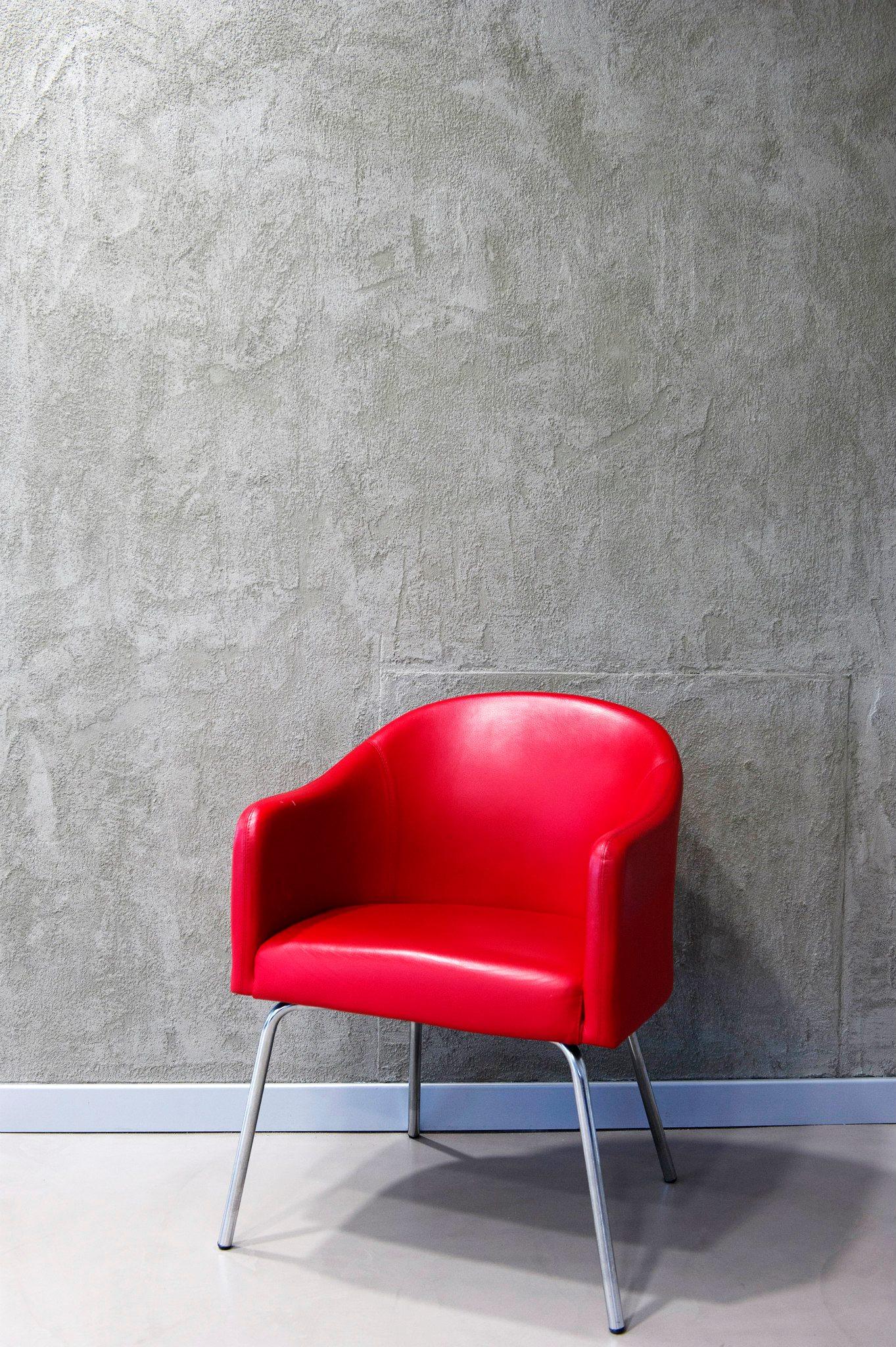parete in resina con effetto ricercato