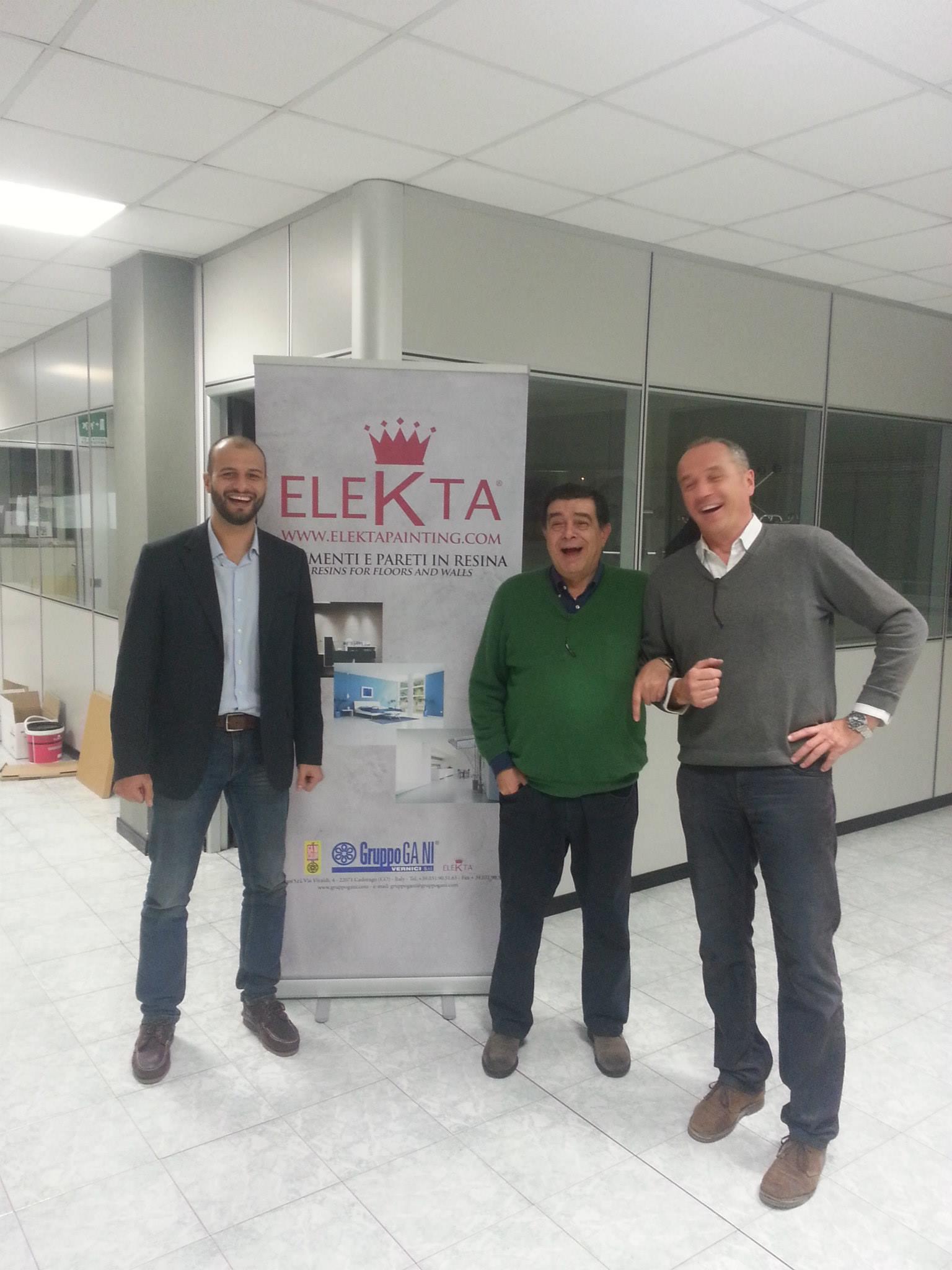 Presentazione delle resine Elekta