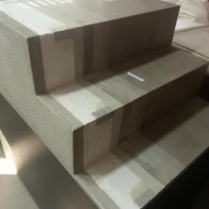 scala in resina realizzata durante il corso per resinatori