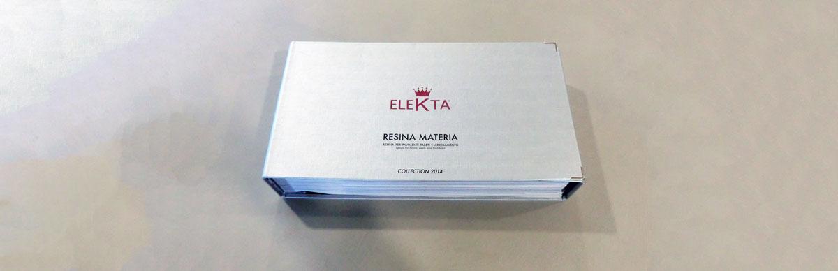 Catalogo resine Elekta