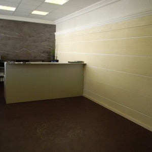 walls and floors of commercial spaces made by resin
