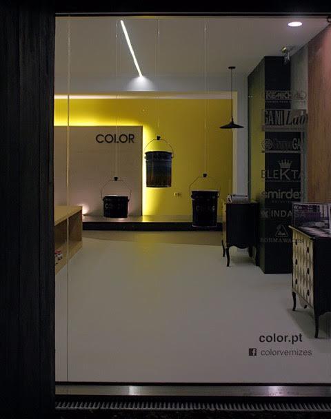 Showroom resins for floors
