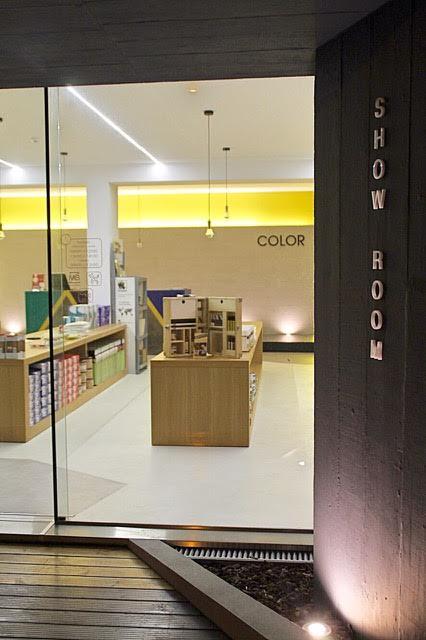 Showroom - resins for floors