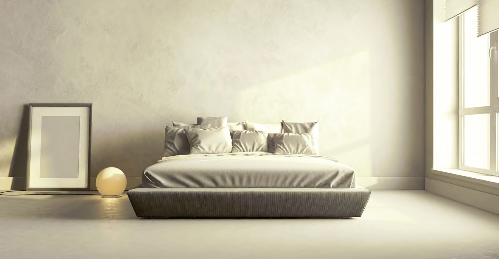 Pavimento e parete in resina per camera da letto elekta linea resine - Parete cucina resina ...