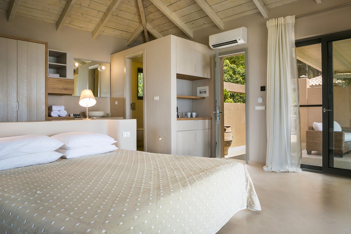 Pavimento e parete in resina per camera da letto elekta - Pavimenti per camere da letto ...