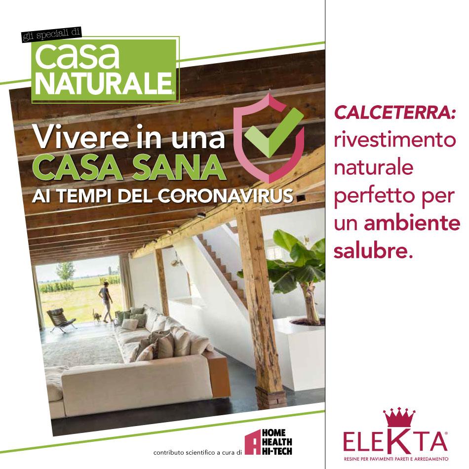 Calceterra e Casa Naturale: insieme per una casa sana!